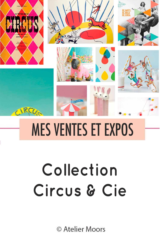 Circus & Cie pinterest Atelier Moors