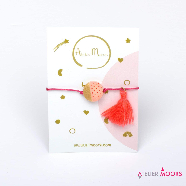 Bracelet enfant Circus & Cie rose clair