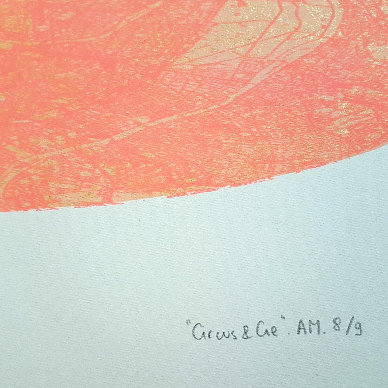 Circus & Cie 8 - Sérigraphie unique Atelier Moors
