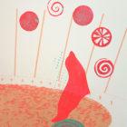 Circus & Cie 9 - Sérigraphie unique Atelier Moors