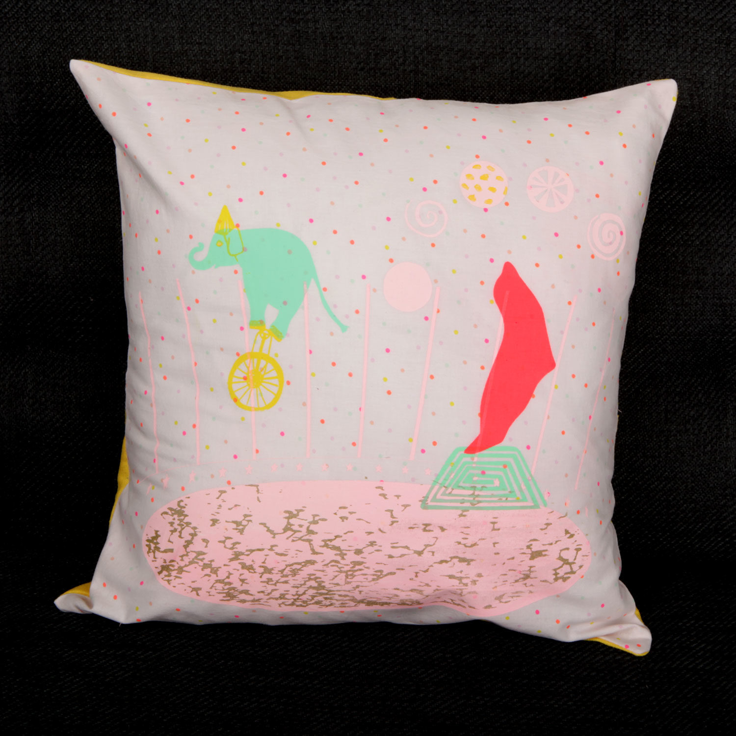 Coussin Circus & Cie Atelier Moors