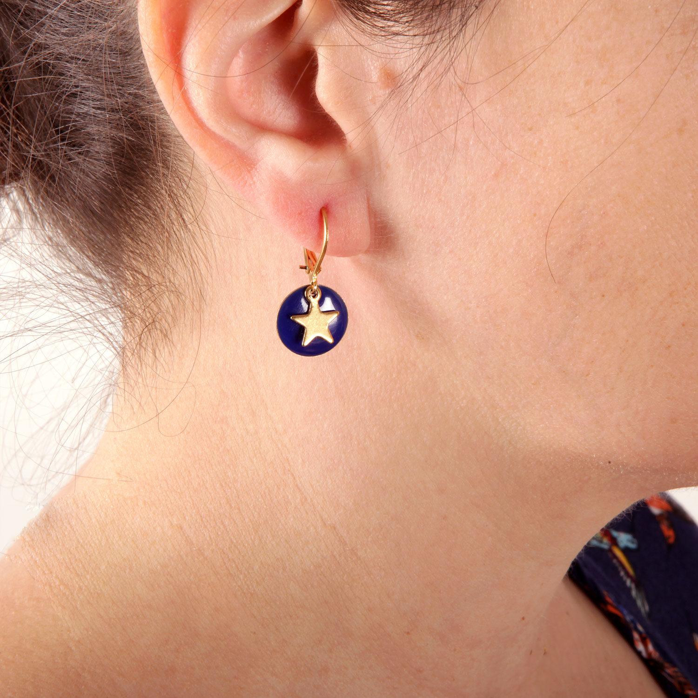 étoile boucle oreille atelier moors