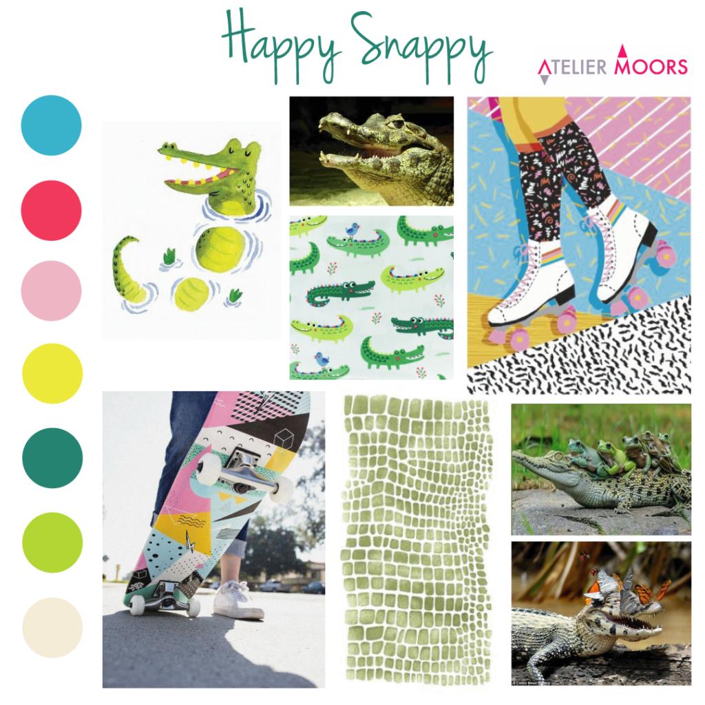 Moodboard tendance Happy Snappy Atelier Moors