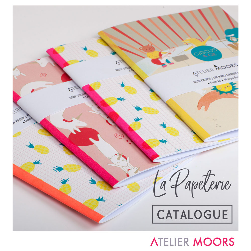 Catalogue collection Papeterie Atelier Moors