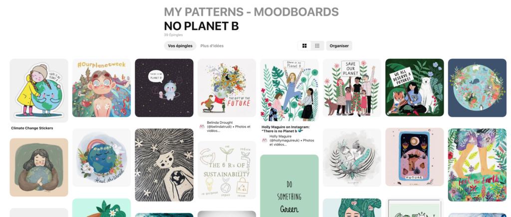 Pinterest Atelier Moors No Planet B