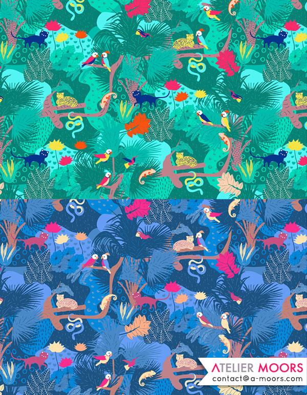 Portfolio Atelier Moors jungle Palenque